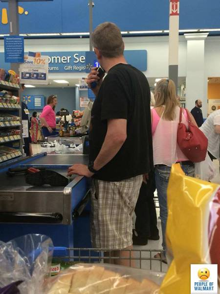 Cringe-Inducing Customers Of Walmart