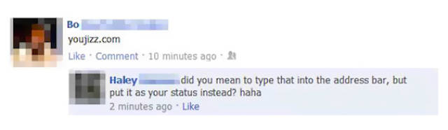 Hilarious Facebook Fails