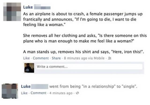 Hilarious Facebook Fails