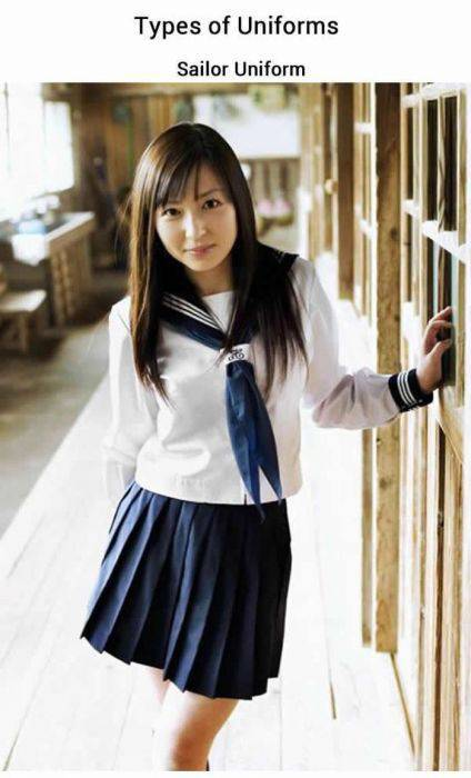 History of Japanese School Girl Uniforms