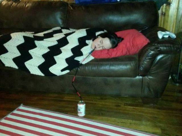 People Who Have Turned Laziness into an Artform