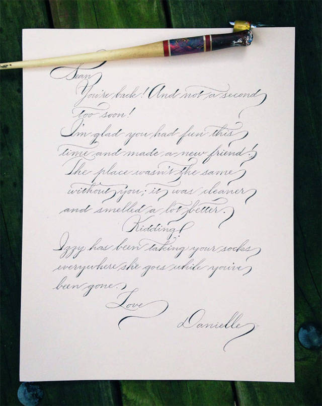 37 Perfect Handwriting Examples That will Give You An