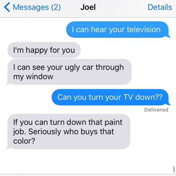 Worst Texts That People Have Ever Received From Their Crazy Neighbors