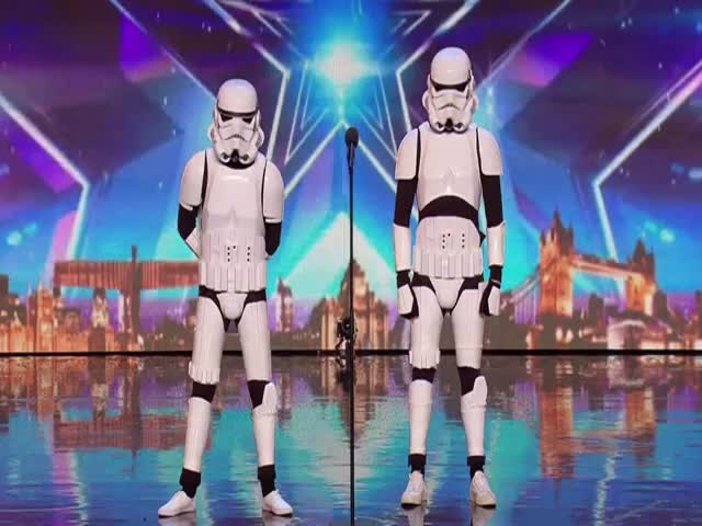 Stormtroopers Stole Judges' Hearts At Britain's Got Talent With Their Performance