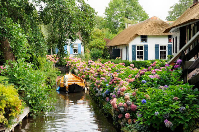 Cute Little Village With