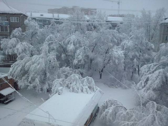 Sometimes Russian Spring Looks Like This