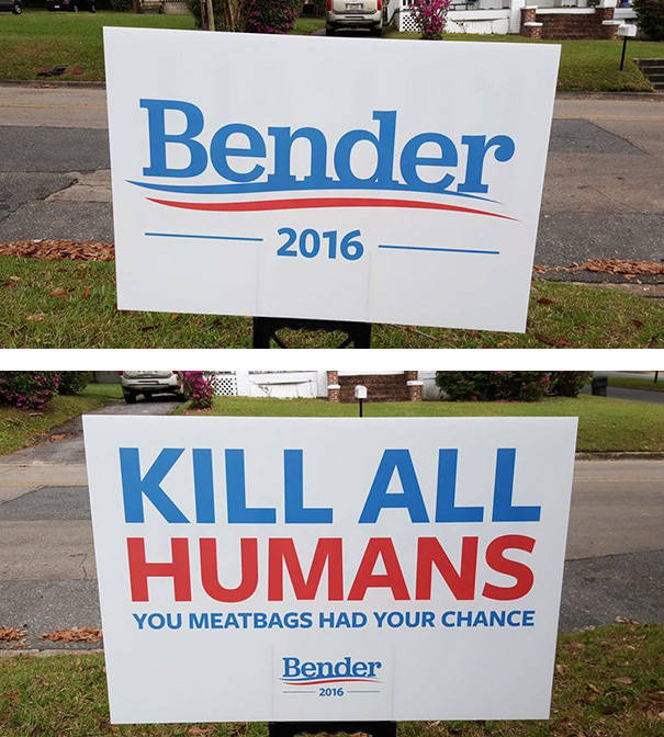 Funny Voting Signs About Upcoming Presidential Elections That Show How People Really Feel About It