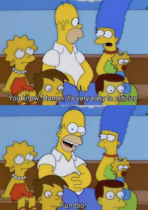 Some Of The Greatest Quotes Of Homer Simpson