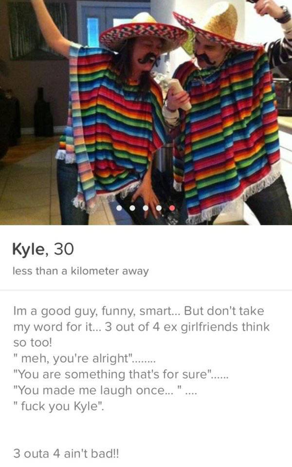 Hilarious And WTF Tinder Profiles