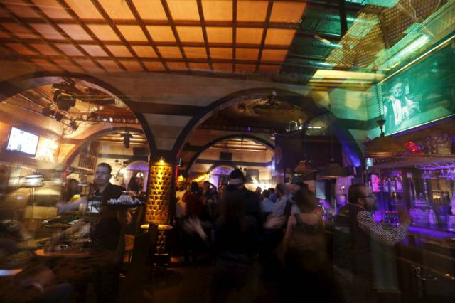 Nightlife In The Syrian Capital Damascus Ravaged By War