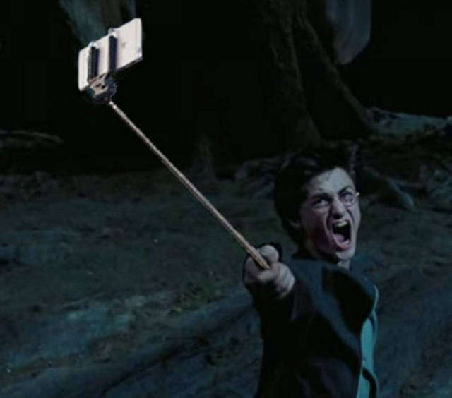 Selfie Sticks Instead Of Guns In Movie Scenes Are Just Hilarious