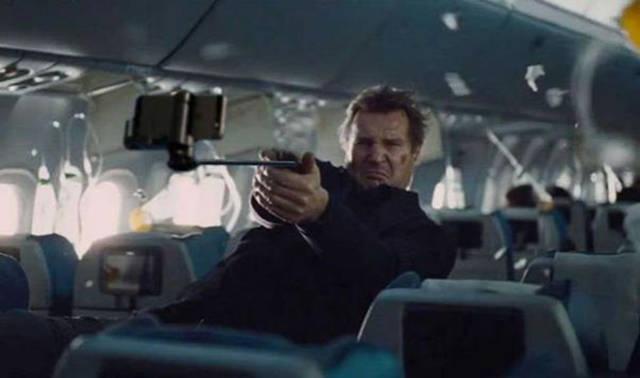 Selfie Sticks Instead Of Guns In Movie Scenes Are Just Hilarious