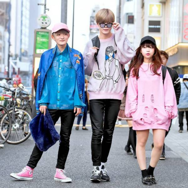 Teens In Tokyo Have Tons Of Different Fashion Styles