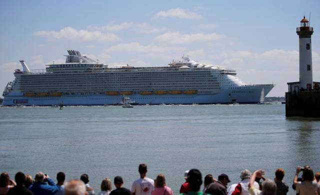 The Largest Passenger Ship In The World Cost $1 Billion And Is Ready To Brave The Seas