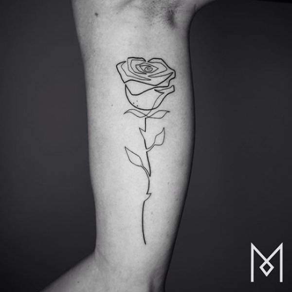Amazing Tattoos Created With A Single Continuous Line