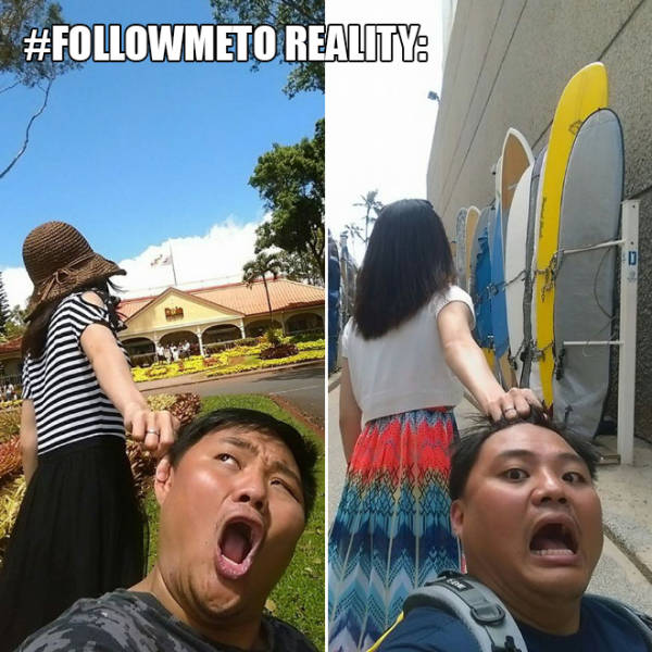 Follow Me: Expectations vs Reality