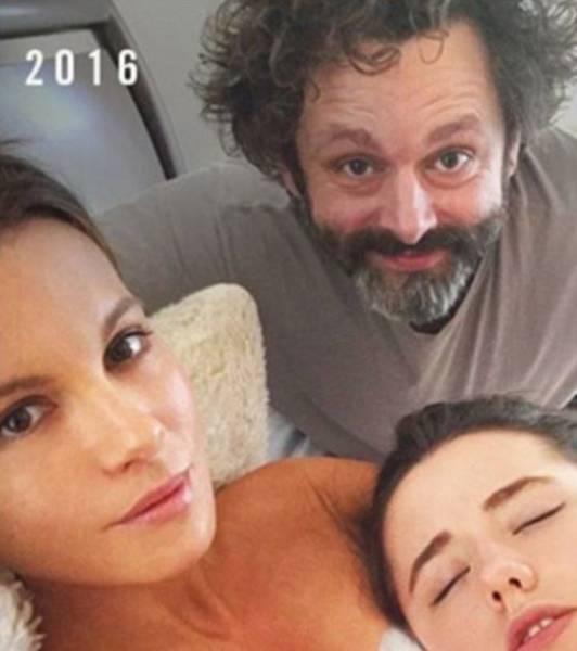 Kate Beckinsale, Her Ex And Their Daughter Recreate An Old Photo Of Them
