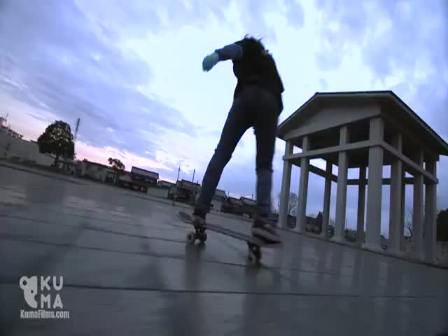 I've Never Seen A 12 Year Old Freestyle Skateboarder Skating That Well