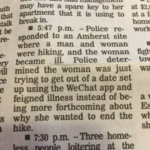 Some Of The Funniest Police Blotters In The History Of Ever
