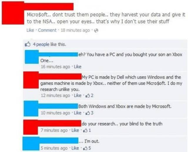 There Are Some Really Dumb People On Facebook