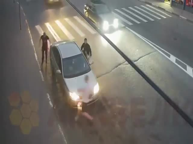 Russians Take Road Rage To A Whole New Level