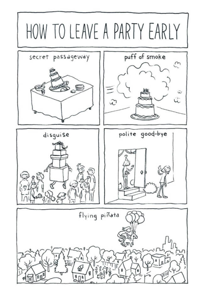 Amusing Comics That Will Help You Better Understand Introverts