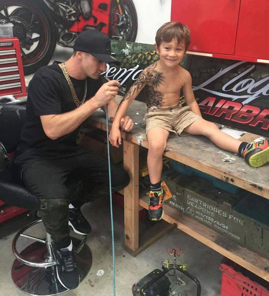 Tattoo Artist Makes Cool Temp Tats For Sick Kids