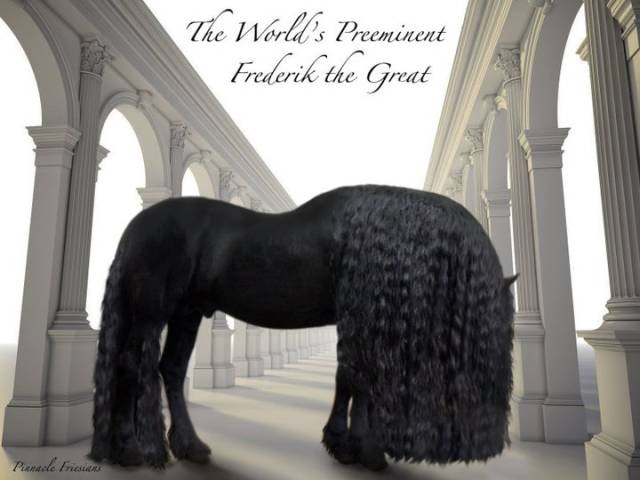 This Horse Might Have The World