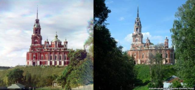 Photographers Recreate Famous Color Photos Of Russian Empire