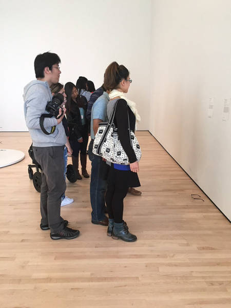 Priceless Prank With Glasses At An Art Museum