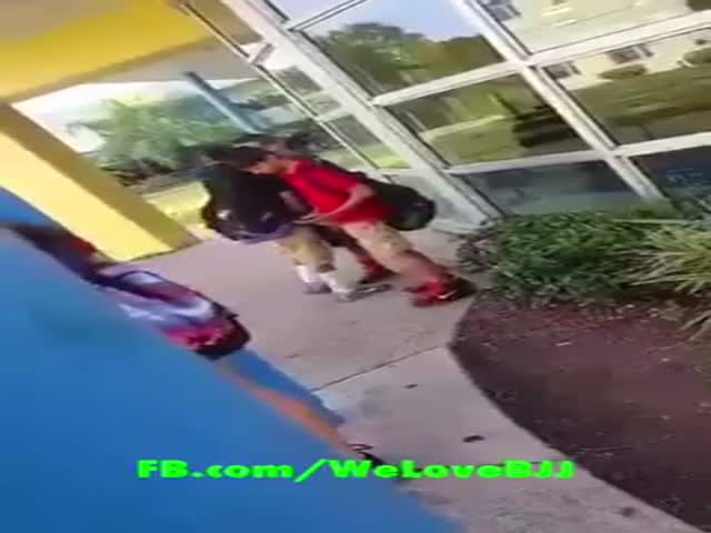 "Bully Picks A Fight With A ""Weak"" Kid But Doesn't Know He Practices MMA"