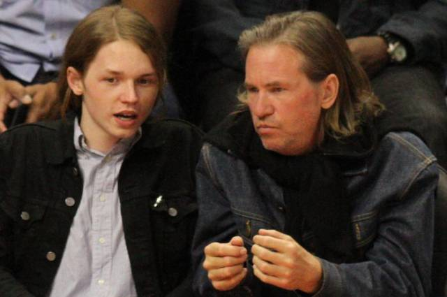 This Is What Val Kilmer's Son Looks Like