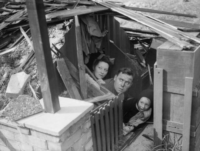 Effective And Popular Air-Raid Shelter In Great Britain During WWII