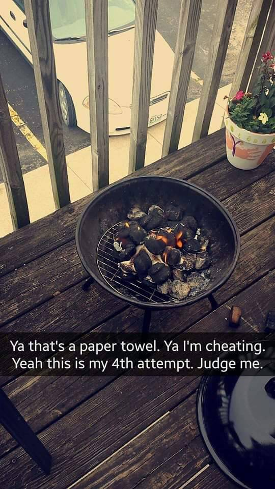 Girl Tries To Grill For The First Time And It Turned Out To Be Hilarious