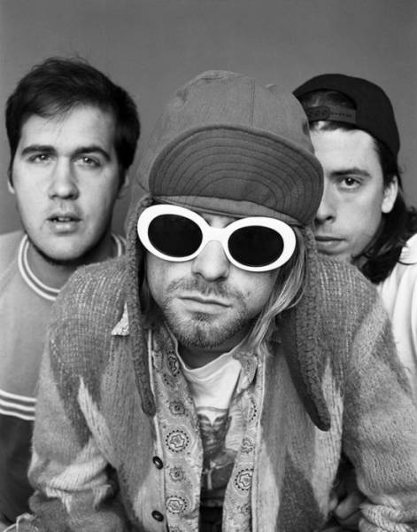 The Last Photo Shoot Of Nirvana With Kurt Cobain
