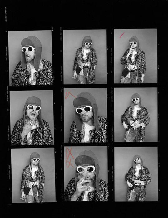 The Last Photo Shoot Of Nirvana With Kurt Cobain