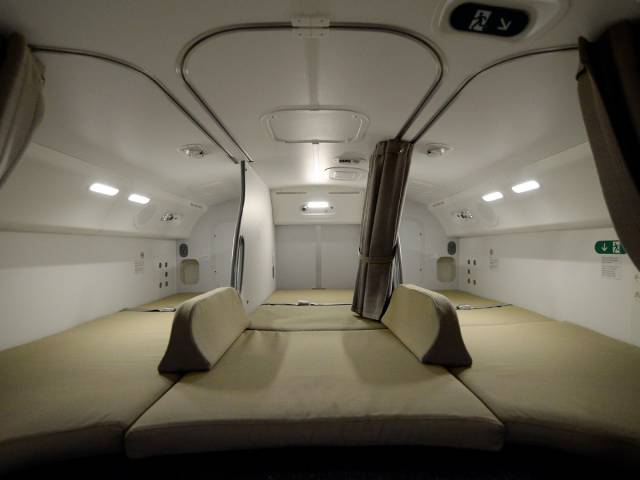 Secret Places On A Plane Where Flight Attendants And Pilots Can Rest And Relax