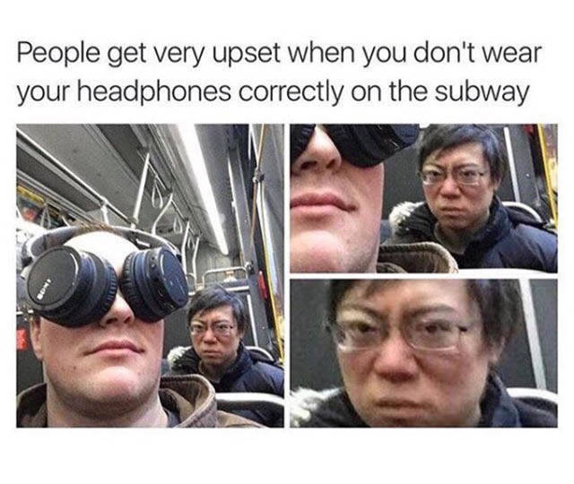 Subway Is A Perfect Place For All Kind Of Weird