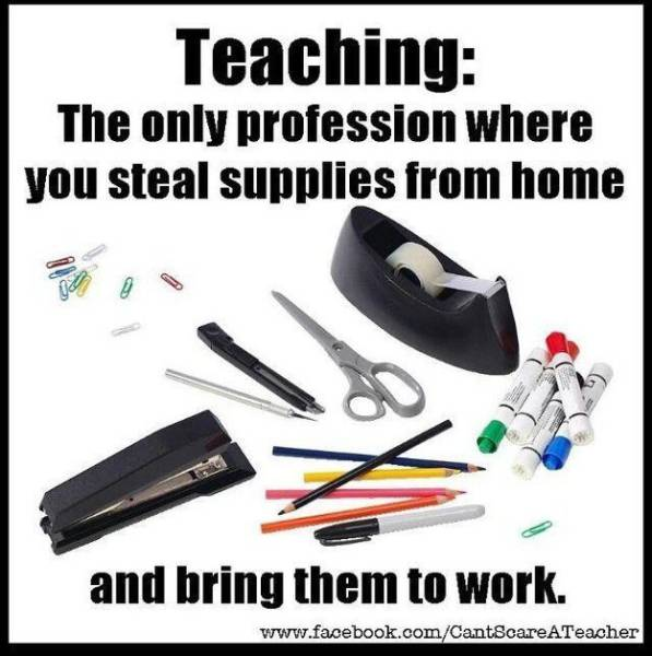 Teachers Will Relate