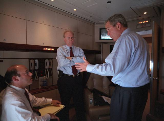 The Moment When George Bush Learned Of  9/11 Attacks