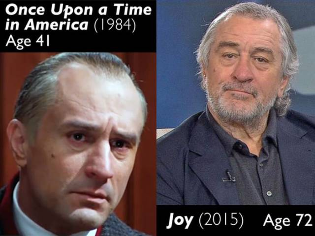 Comparing Actors Artificially Aged For Movies And How They Look Now After They've Aged For Real