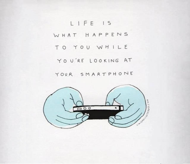 Cynical But Honest Illustrations About Our Modern Life
