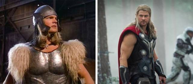 How Looks Of Famous Superheroes Have Changed Through The Years