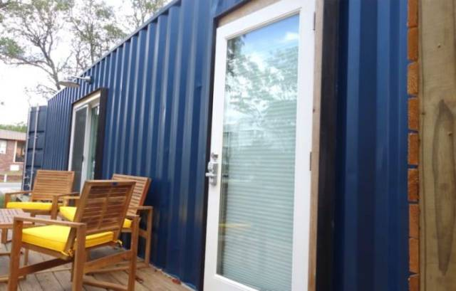 Shipping Containers Transformed Into Vacation Homes