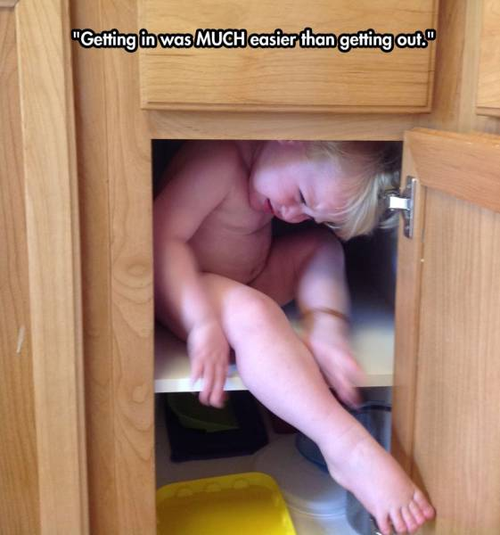 Kids Have A Knack For Getting Stuck In Everything