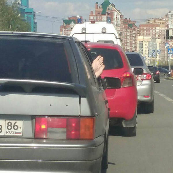 All Kind Of Funny And Surprising Can Happen On The Road