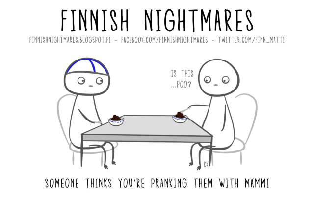 Funny Comics About Finnish Nightmares That Anyone Can Understand
