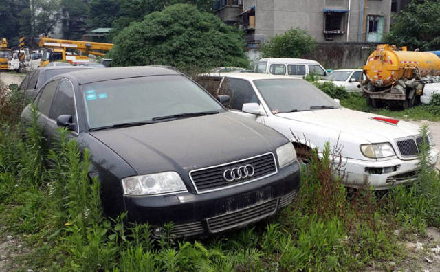 A Place In China Where Luxury Cars Go To Die