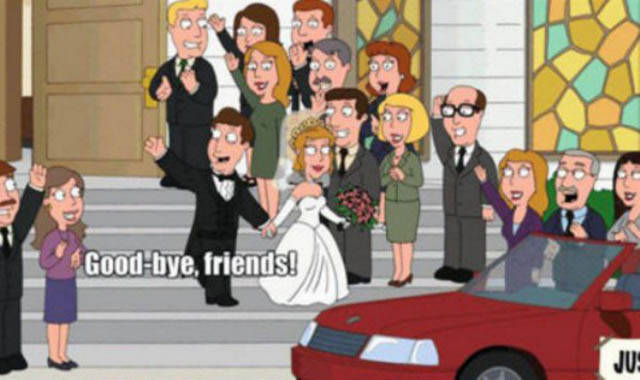 Family Guy Made The Best And Quite Accurate Farewell To His Single Life