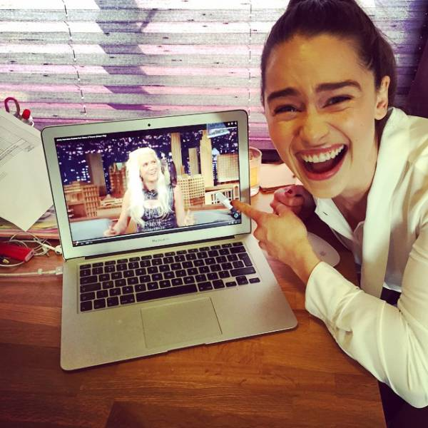 Mother Of Dragons Shows Her Fun Side On Instagram